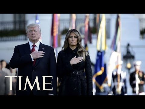 President Donald Trump And First Lady Participate In 9/11 Observance At The Pentagon   TIME