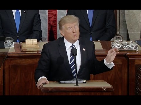 Trump Addresses Congress- Full Speech -HD Video