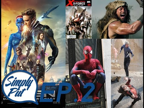 EP. 2: Days of Future Past, Leaked Avengers 2 photos, Amazing Spider-Man 2, X-Force? ....
