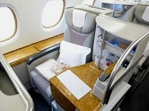 Emirates A380 Business Class from Milan to Dubai - IN AIR WIFI