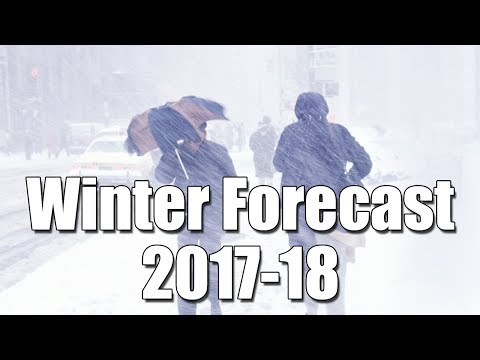 Winter Weather Forecast 2017-18