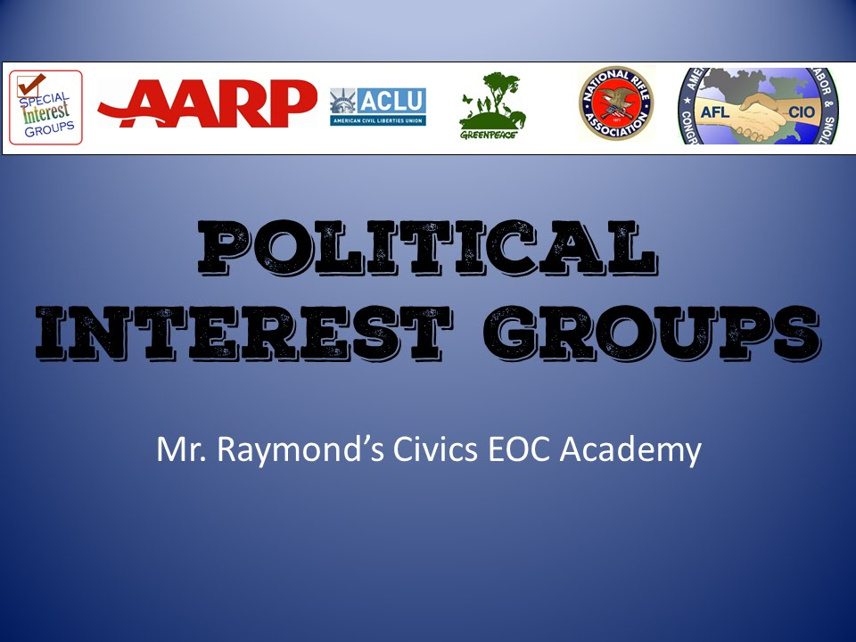 interest groups examples