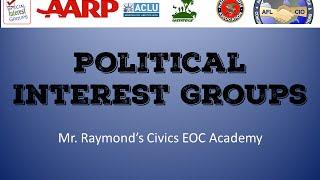 Political Interest Groups