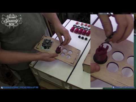 retro gaming box : vidéo de montage