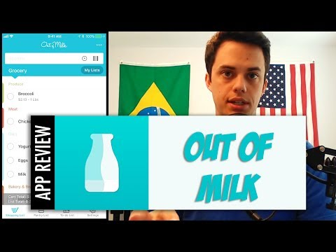 Out Of Milk - Grocery Shopping List App