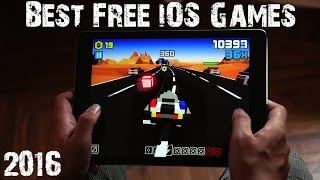 Top 10 Free iOS Games 2016 | MUST PLAY