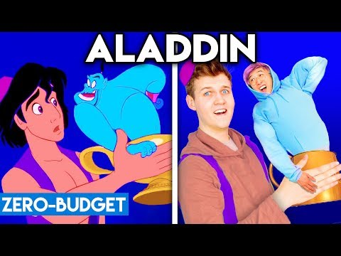 ALADDIN WITH ZERO BUDGET! (Friend Like Me PARODY)