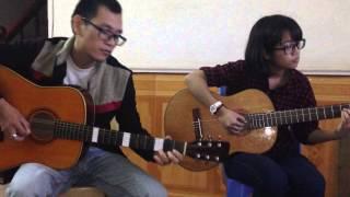 Điệu Fox- Polka  MẶT TRỜI BÉ CON (lớp học Guitar GPT)