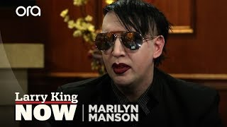 Marilyn Manson on Marriage and Family | Larry King Now