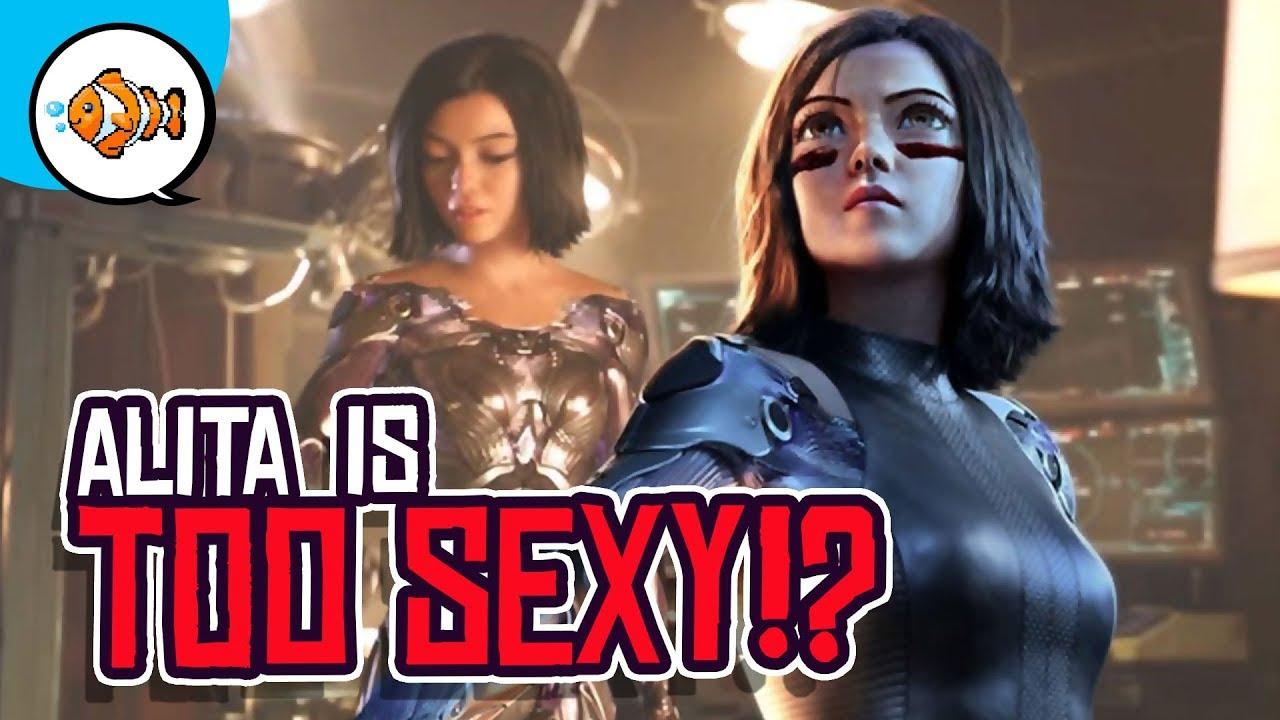 Alita Battle Angel is TOO SEXXY?!