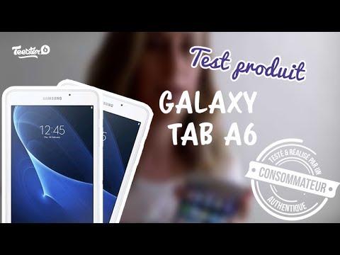 Test Produit Tablette Samsung Galaxy Tab A6 Youtube