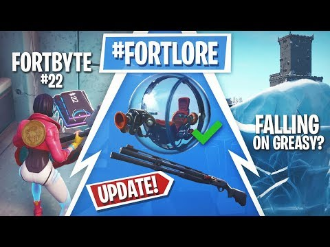 Fortnite Update! Fortbyte 22, Greasy Grove Event, Next Patch & More!