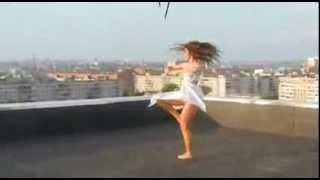 Джаз модерн, танцует Очень красивая девушка!!!