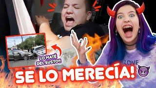 BROMA ÉPICA A MI HERMANO! CASI MUERE DEL SUSTO!!🤣😱 | Leyla Star 💫