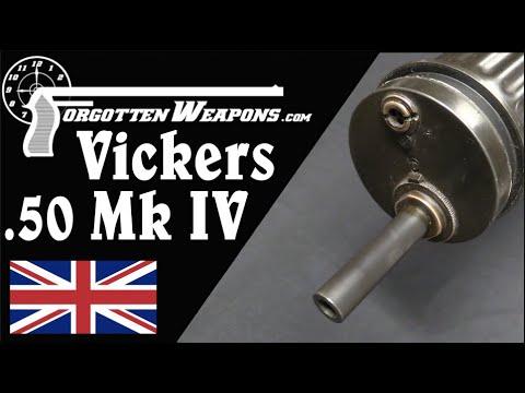 Download Vickers Mk IV .50 Caliber Water-Cooled Tank Gun