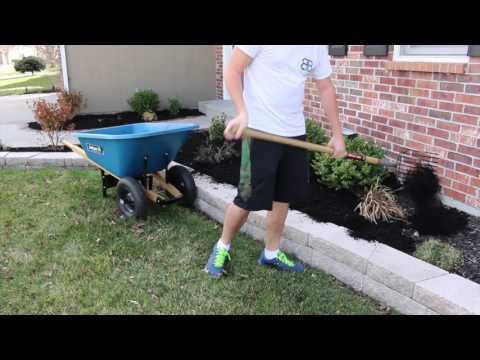Landscape Cleanup and Mulch Installation 2016