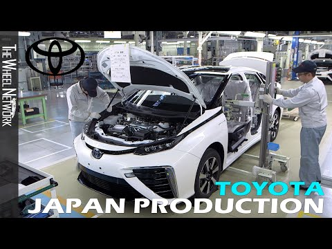Toyota Production in Japan
