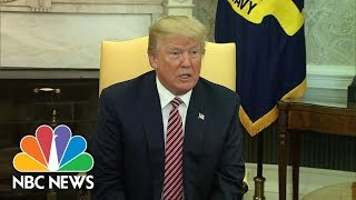 President Donald Trump Comments On White House Aide Rob Porter's Resignation | NBC News