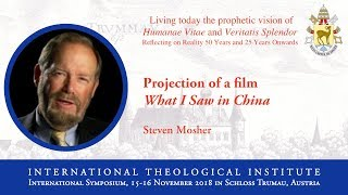 ITI International Symposium - Steven Mosher (4/16)