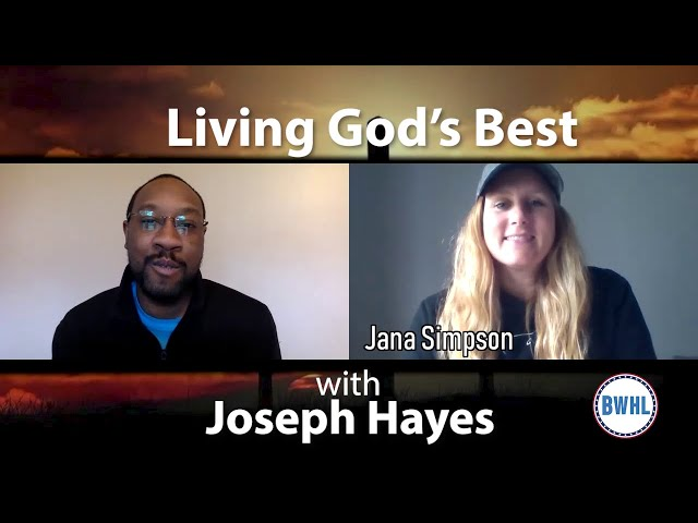 Living God's Best: Now is the perfect time for the Church to focus on the youth - with Jana Simpson