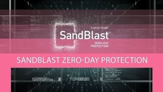 CPU-level Sandboxing with Check Point SandBlast | Advanced Threat Prevention