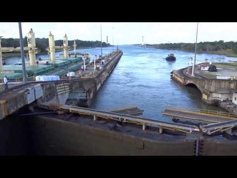 Panama Canal Gatun Locks - Esclusas de Gatun Canal de Panama