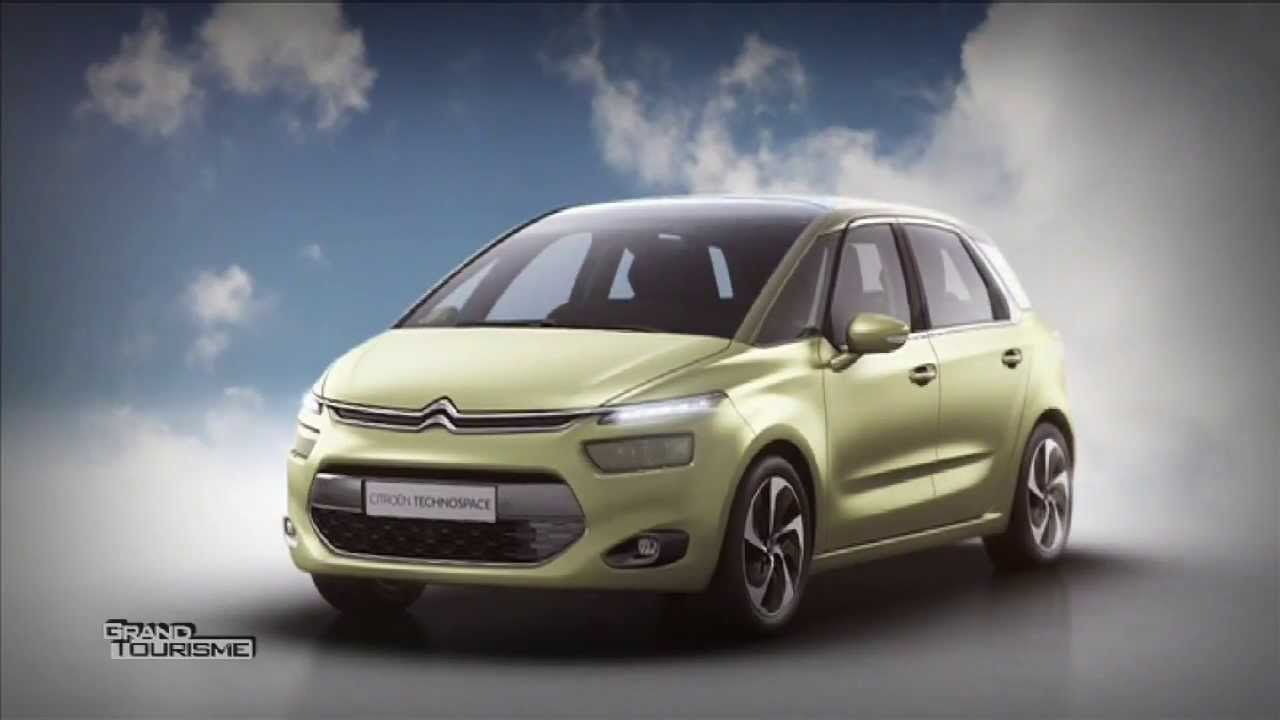 citroen technospace le futur c4 picasso youtube. Black Bedroom Furniture Sets. Home Design Ideas