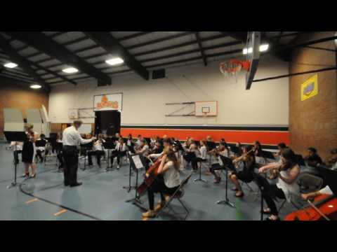 Cedar Heights Middle School Orchestra performing Celtica 6/7/2017