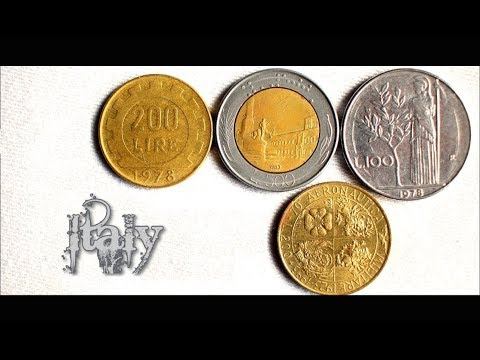 Coin collection | Italy | 4 Coins (Lire) from 1978