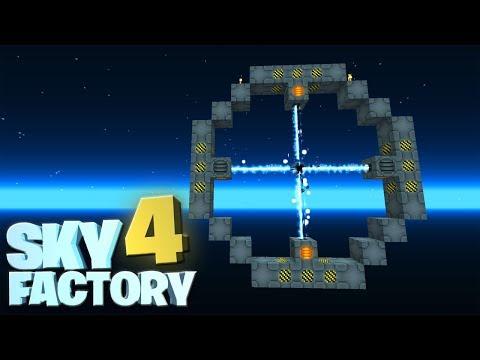 Black Hole Fusion Reaktor! - Minecraft Sky Factory 4 #17