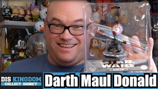 Star Wars Darth Maul Donald Duck Bobble Head Unboxing