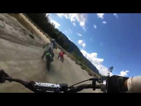 Pemberton Speedway Motorcycle Flat Track Race