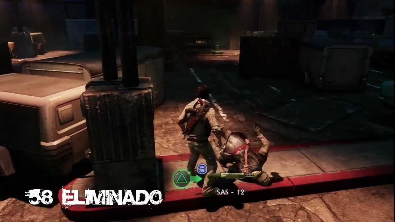 uncharted 3 trophy guide defeat 75 enemies in a row without dying rh youtube com Uncharted The Lost Legacy Uncharted The Lost Legacy