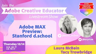 Adobe MAX Preview: Stanford d.school
