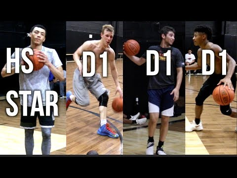 HS STAR Jahvon Quinerly🍇🍇 WORKING OUT WITH D1 PLAYERS From Virginia, Brown & Butler!!