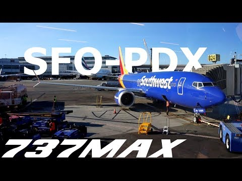 Boeing 737-8 MAX - Southwest 4664 - San Francisco to Portland, OR