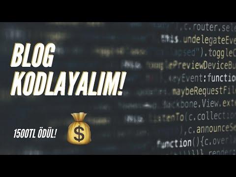 Beraber kodlayalım: Kişisel blog (1500TL ÖDÜL!)