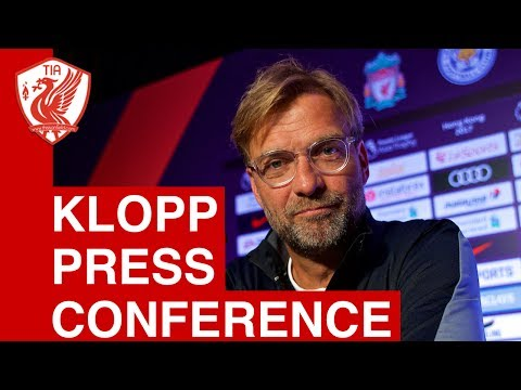 Jurgen Klopp Press Conference - Liverpool FC Pre Season 2017, Hong Kong