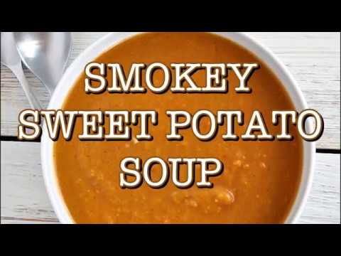 Smoky Sweet Potato Soup (Slow Cooker Recipe)