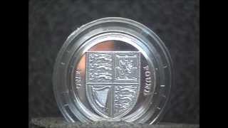 2013 Coins:British One Pound Silver Brilliant Uncirculated Coin Royal Mint