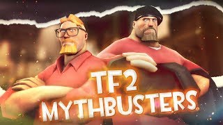 TF2 Mythbusters: 31 SPY vs 1 Machina shot [4k]