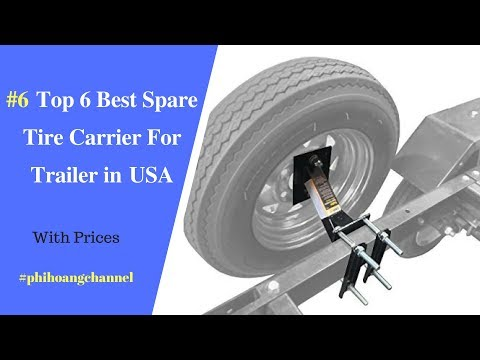 Extreme Max 3005.3732 Wall Mount Spare Tire Carrier for Enclosed Trailers