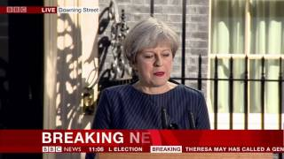 BBC News Special: General Election Announcement - 18th April 2017