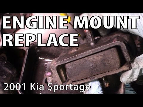 How to Change Engine Mounts on a Kia Sportage