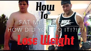 How did I lose 100lbs?!