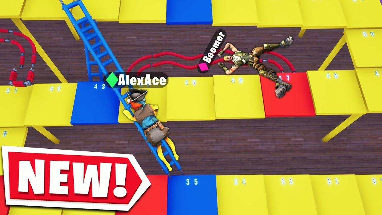 Fortnite Shoots Ladders Board Game Fortnite Creative