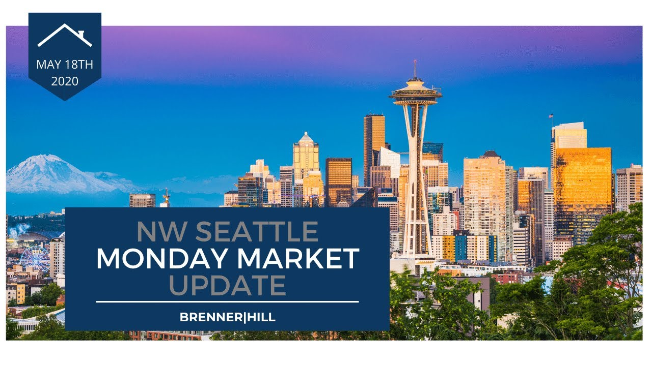 Monday NW Seattle Real Estate Market Update 5.18.2020