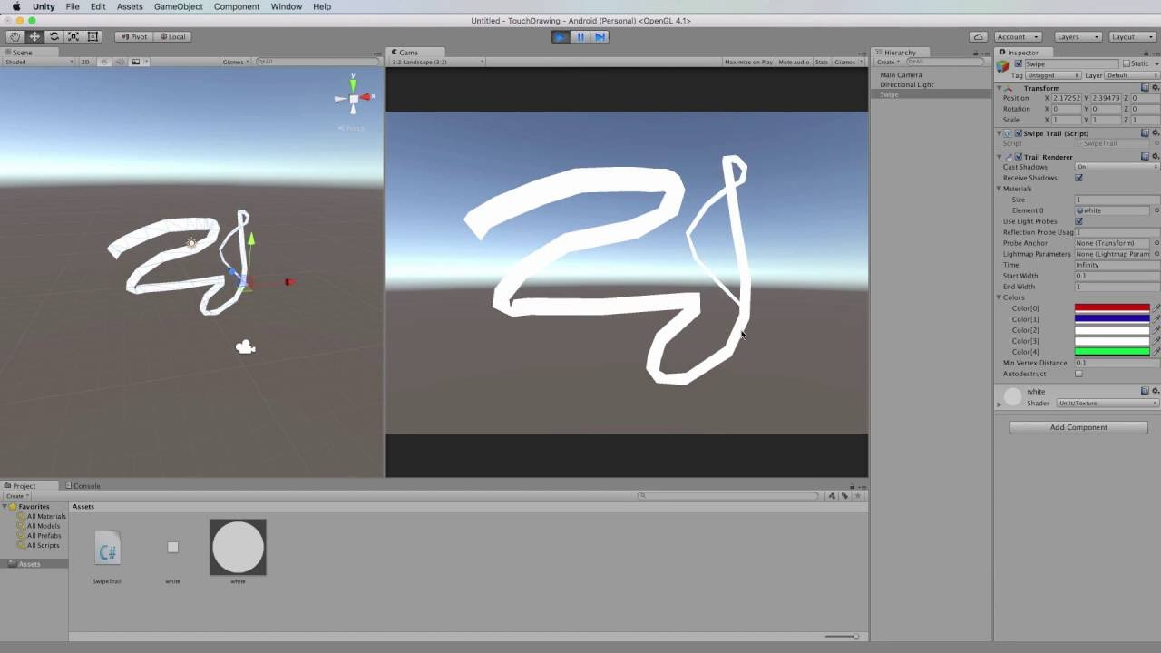 Line Drawing Unity : Unity mobile dev from scratch drawing on the screen youtube