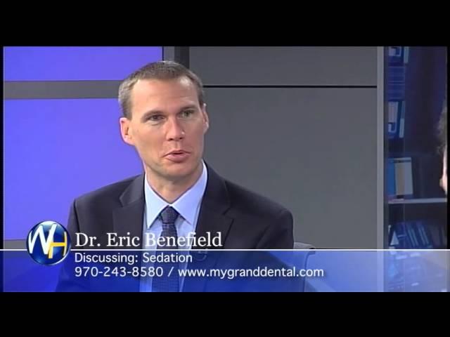 Sedation, Grand Junction, CO Dentist, Dr. Eric Benefield