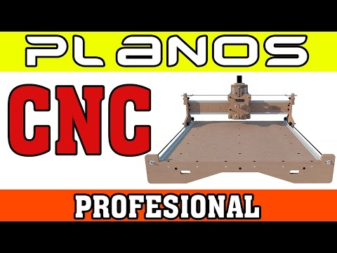Planos CNC Profesional super detallados (MULTIMEDIA)